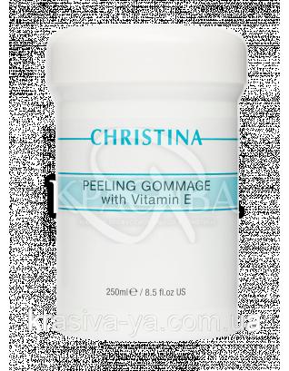 Пилинг-гоммаж с витамином Е для всех типов кожи Peeling Gommage with vitamin E, 250 мл : Гоммаж для лица