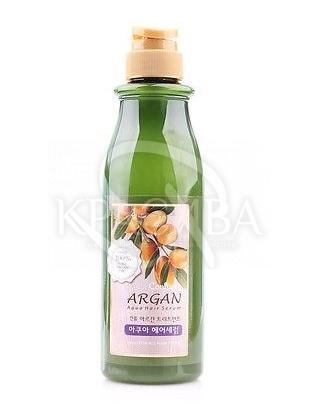 Аква-сироватка для сухих і жорстких волосся - Welcos Confume Argan Treatment Aqua Hair Serum, 500 мл : Welcos