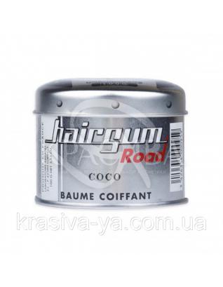 Hairgum Road Coco Помада для стайлінгу з ароматом кокоса, 100 г : Hairgum