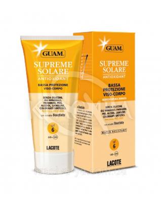 Сонцезахисний крем з антиоксидантною дією SPF6, 150 мл : GUAM