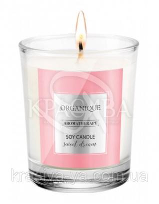 Свічка ароматерапевтична з соєвого воску Sweet Dream, 180 г : Арома свічки