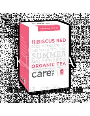 "Care Red Hibiscus - Трав'яний тизан ""Гібіскус"" пакети, 18 шт : Care Tea"