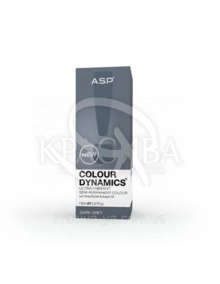 Color Dynamics Полуперманентная краска для волос Dark Grey, 150 мл : Оттеночная краска