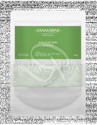 Альгінатна маска з Алое Aloe Alga Mask, 100 г : Sanmarine