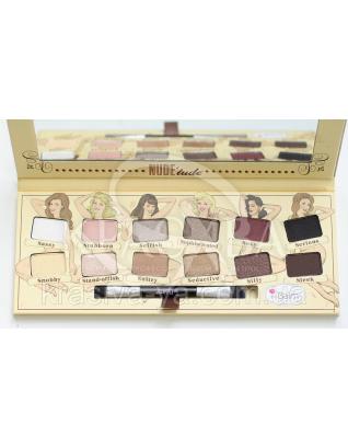 The Balm Palettes Nude Tude Palette-Naughty Packaging - Палетка теней, 11 г : Палетки