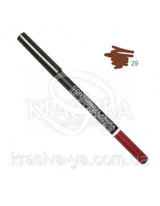 Олівець для губ Lip Liner New 029, 1.5 м : Layla