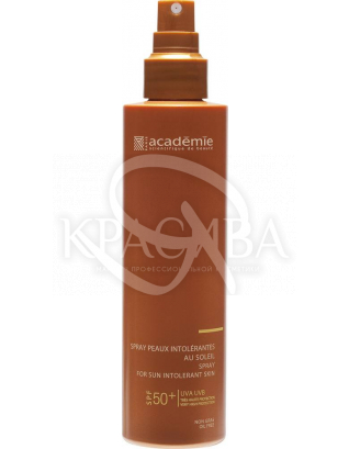 Солнцезащитный спрей для чувствительной кожи SPF 50+ : Эмульсия солнцезащитная