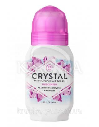 Crystal Body Deodorant Roll-on - роликовий Дезодорант, 66 мл : Дезодоранти