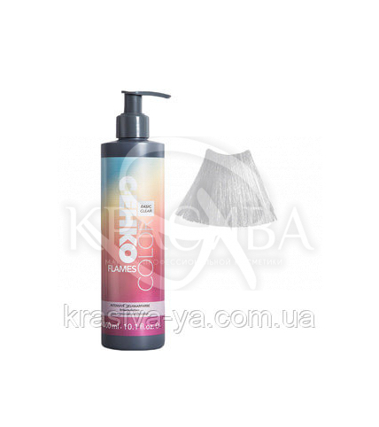 Color Flames Интенсивный гель-краска для волос (Прозрачный), 300 мл - 1
