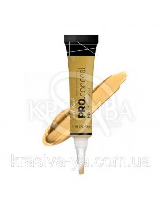 L.A.Girl GC 991 Pro Conceal HD Concealer Yellow Corrector - Консилер под глаза (желтый корректор), 8 г : Консилер для лица