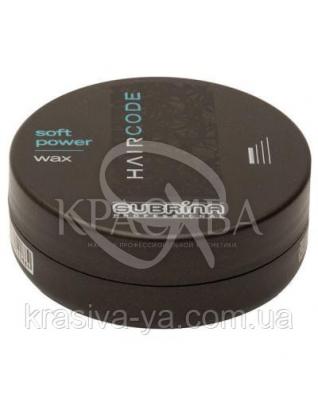 Воск SOFT POWER для создания блеска Subrina, 100 мл : Воск для волос