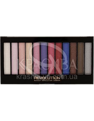 MUR Redemption Palette - Палетка из 12 оттенков теней (Unicorns Are Real), 14 г : Makeup Revolution