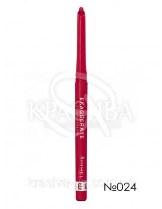 RM Exaggerate -Карандаш для губ (024-Red Diva), 0,25 г : Карандаш для губ