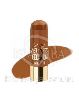 L. A. Girl GCS 595 Velvet Contour Sticks Bronzer-Goddess - Оксамитовий контур в стіку, 5.8 м : Хайлайтери