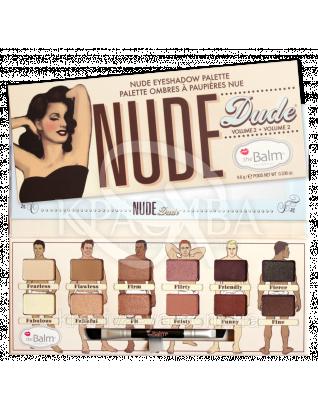 The Balm Palettes Nude Dude Palette - Палетка теней, 9.6 г : Палетки