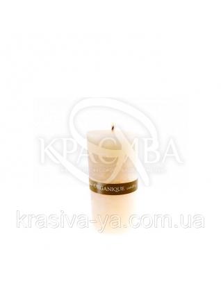 Свічка ароматерапевтична середня 75*75 - Ваніль (Бежевий), 235 г : Декор для дому