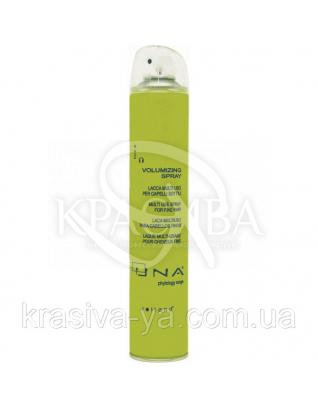 Уна Волюмизин Спрей термоактивний для обсягу волосся середньої фіксації, 500 мл : Rolland