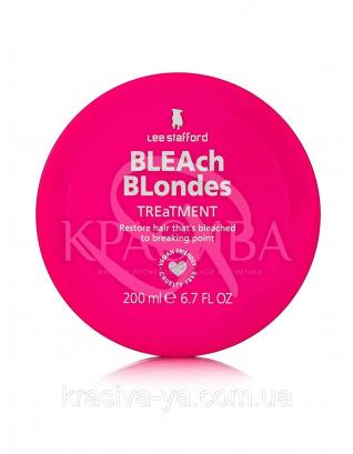Маска для фарбованого і освітленого волосся Bleach Blondes Colour Treatment, 200 мл : Lee Stafford