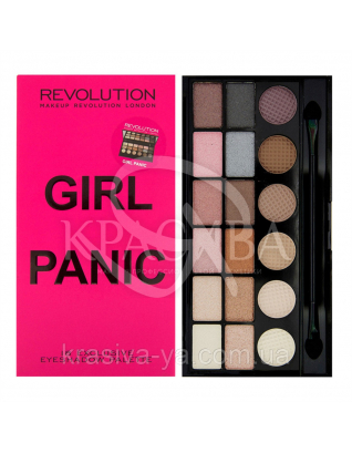 MUR Salvation Palette - Палетка з 18 відтінків тіней (Girl Panic), 13 р : Makeup Revolution