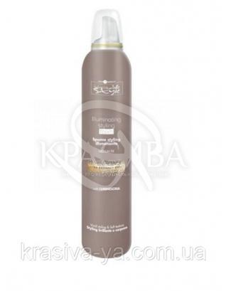 HC IS Мусс для блеска волос сильной фиксации, 250 мл : Мусс для волос
