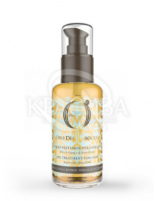 Barex Olioseta ODM - Масло блонд-уход для волос с маслом арганы и маслос семян льна, 100 мл : Чехлы и поясы для кистей