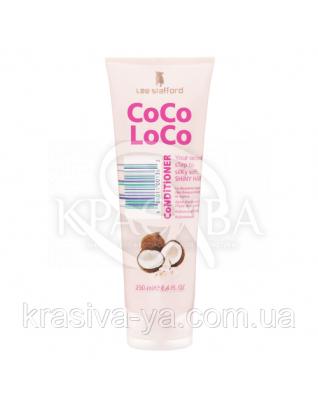 Зволожуючий кондиціонер з кокосовим маслом Coco Loco Conditioner Straw to Silk, 250 мл : Lee Stafford