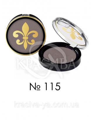 VS Petits Jeux - Тени для век одинарные стойкие (115-темно коричневый), 3,5 : Макияж для глаз
