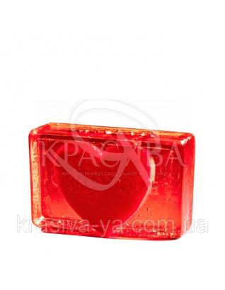 Глицериновое мыло куб ORG - Сердце для него, 100 г : Мыло