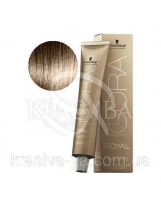Igora Royal Absolutes - Крем краска для волос 8-60 Светло-русый шоколадный натуральный, 60 мл : Аммиачная краска
