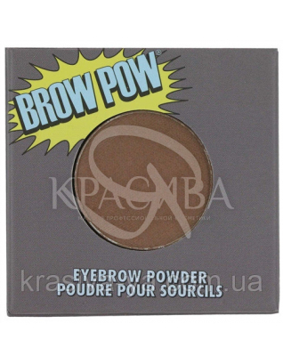 The Balm Brow Pow-Light Brown - Пудра, тіні для брів, 0.85 г : TheBalm
