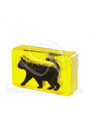 Глицериновое мыло куб ORG - Черный кот, 100 г : Мыло