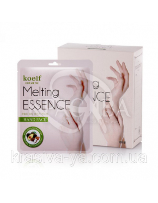 Маска для рук KOELF Melting Essence Hand Pack, 14г х 10шт