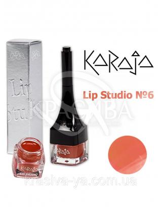 Karaja Губна помада Lip Studio 6 Orange, 2.5 мл