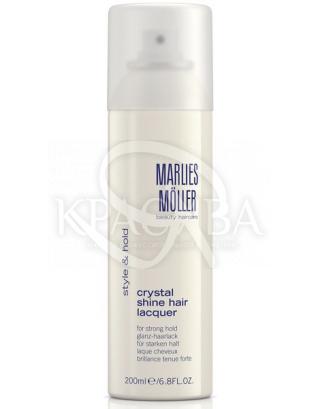 "Crystal Shine Hair Lacquer (tester) - Лак для волос ""Кристальный блеск"", 200 мл"