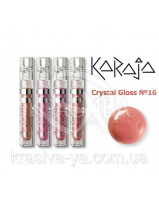 Karaja Блиск для губ Crystal Gloss 16, 3.5 мл