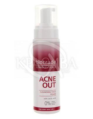 Acne Out Пенка очищающая, 150 мл : Пенка для лица