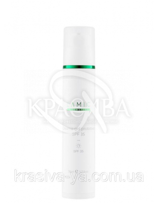"Защитный крем -гель SPF35 ""Lamic Creama-Gel Protettive SPF35, 50 мл :"