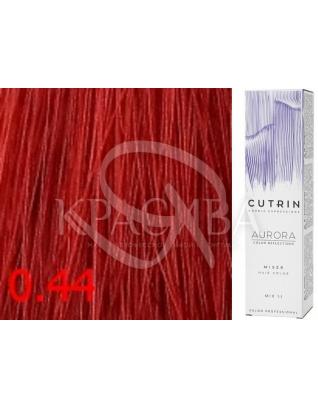 Cutrin Aurora Mixer Red - Краска-усилитель цвета для волос 0.44 Красный микстон, 60 мл