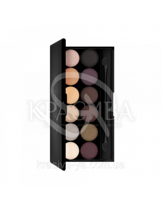 Sleek I-Divine Palette Au Naturel - Палетка тіней для повік, 12*1.1 м : Sleek make up
