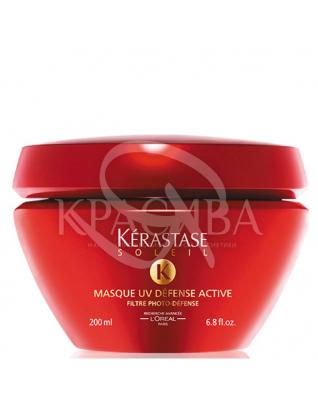 Солей Маск УФ Дефенс Актив, маска для защиты окрашенных волос от солнечных лучей, 200 мл