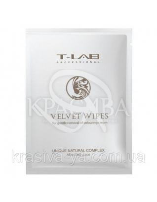 Салфетки для очистки кожи после окрашивания, 30 шт : T-lab Professional